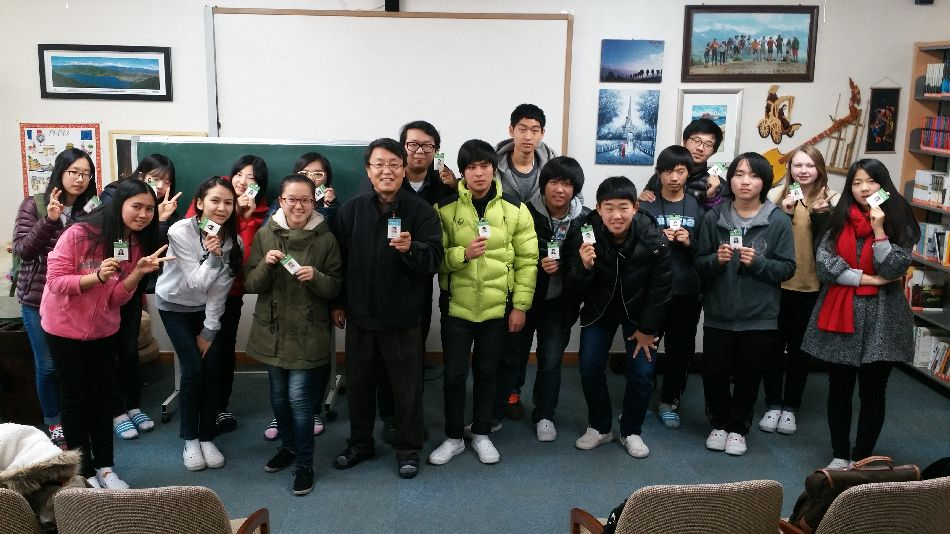 Acnnews 청소년 기자단증 발급